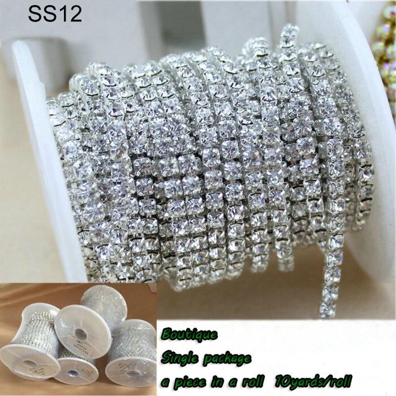 QIAO nove ponude Crystal vještački dijamant DIY ljepota SS12 10 - Umjetnost, obrt i šivanje - Foto 3