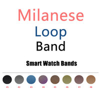 Milanese Loop Band Link Bracelet Stainless Steel Strap For IWatch 42mm 38mm Watchband