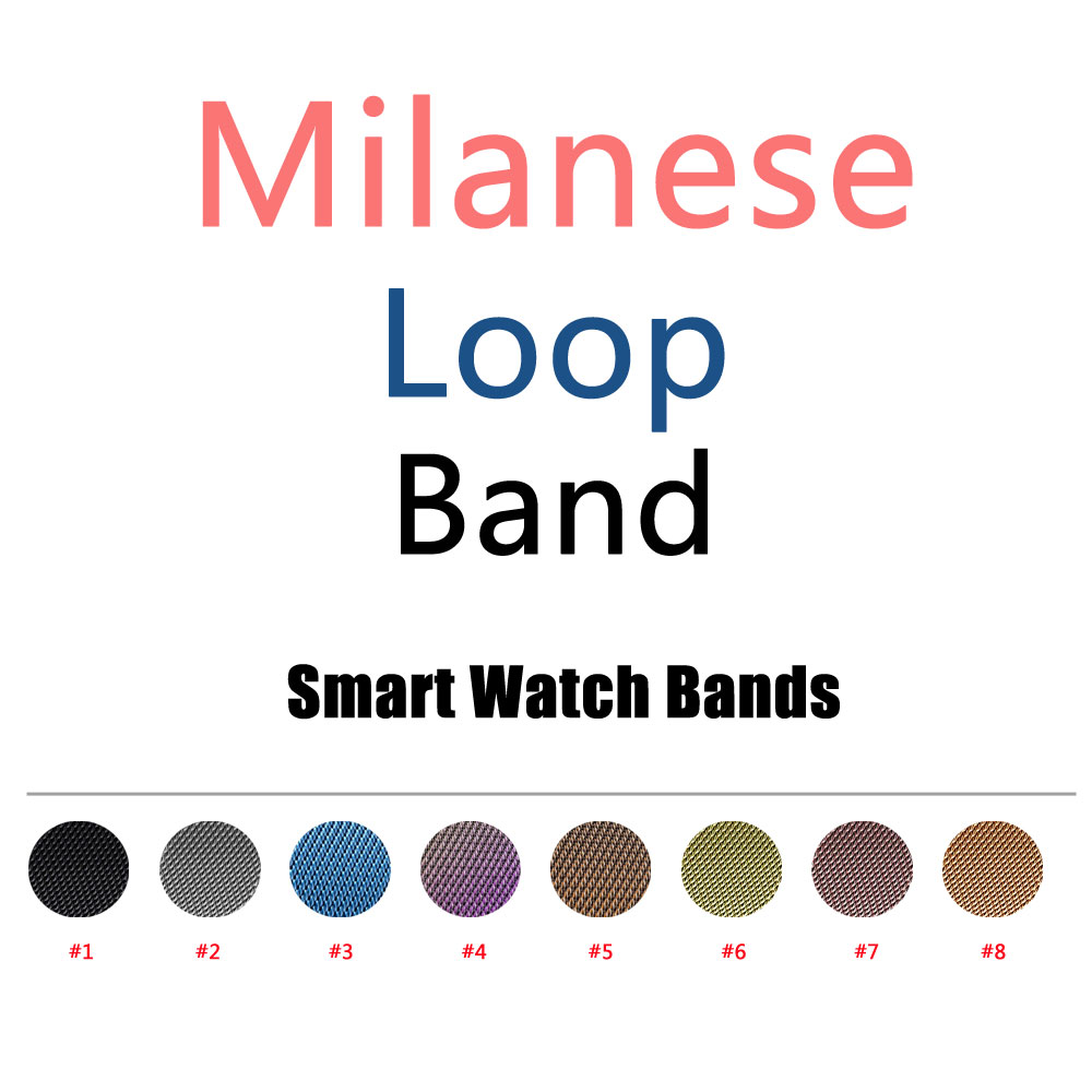 Milanese Loop Band & Link Bracelet Stainless Steel Strap for iWatch 42mm 38mm Watchband