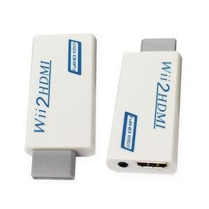 Image 2 - Hdmi dönüştürücü adaptör, wii için hdmi1080p 720p konektörü çıkış Video ve 3.5mm ses destekler tüm Wii ekran modları