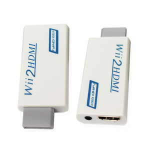 Image 2 - Wii to hdmi Converter Adapter, wii to hdmi1080p 720p Connector Output Video & 3.5mm Audio   Supports All for Wii Display Modes