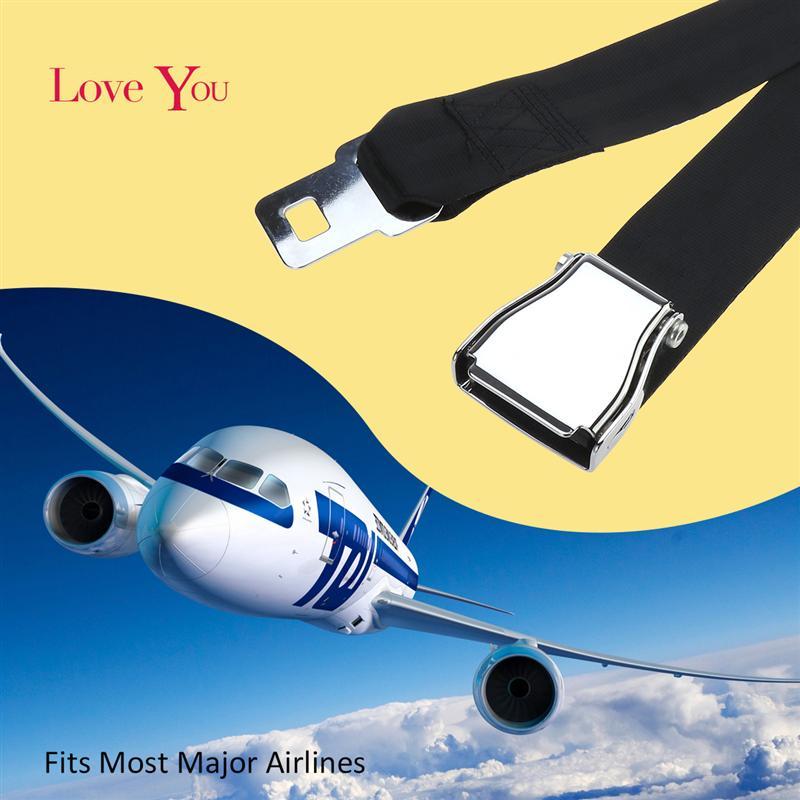 560563001dc1d4 Vorcool 130cm Adjustable Airplane Airline Aeroplane Aircraft Extra Long Seat  Belt Extender Fits Most Major Airlines Belt - aliexpress.com - imall.com