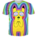 SICK Pikachu on Acid T-Shirt Pokemon Character Cartoon t shirt Summer Style Fashion Clothing Sexy tees For Women Men