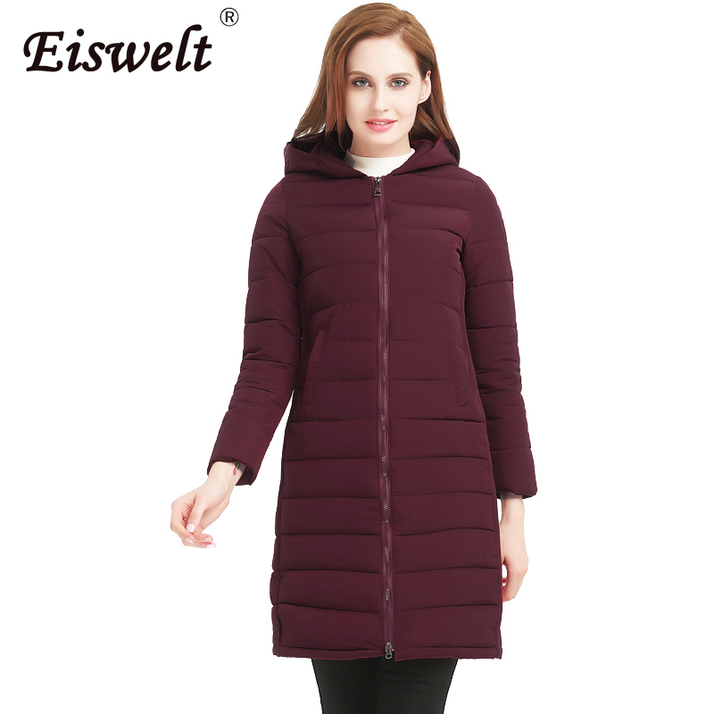 Cheapest Women Coats Suit In Winter Plus Size Jackets Women 2 Style Hooded Thicken Parkas Cotton