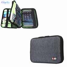 1Pcs Black 23cm*16cm Storage Bag For Cable Wires Of Cellphone,Digital camera,Laborious Disk,U-Disk