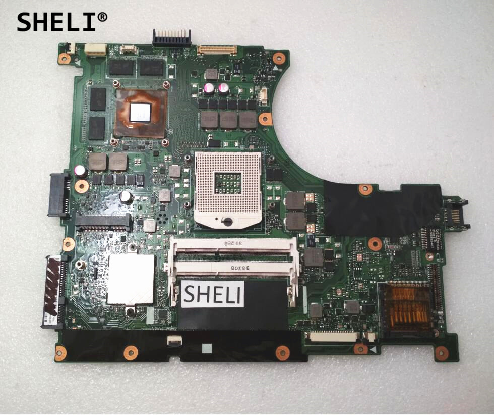 SHELI For Asus N56VV Motherboard with GT750M Video Card 4GB Video Memory
