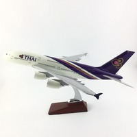 45 47CM THAI AIRWAYS A380 1:150 Alloy Aircraft Model Collection Model Plane Toys Gifts Free express EMS/DHL/Delivery