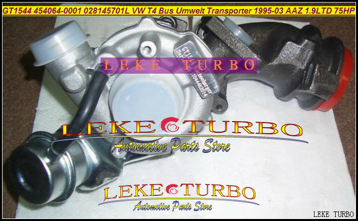 Free Ship GT1544 454064-0001 454064 454064-0002 028145701L GT1544S Turbo For Volkswagen VW T4 Bus Transporter 95-03 AAZ ABL 1.9L