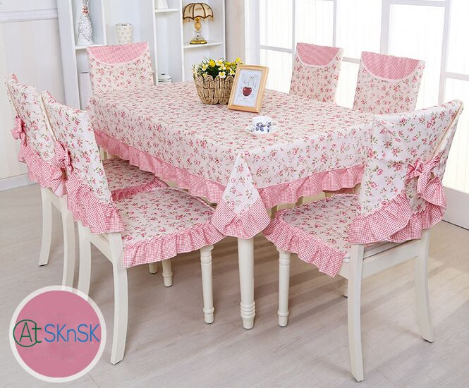 Multi choice beautiful fabric DIY rustic garden floral table cloth home wedding decoration vintage lace table cloth for table