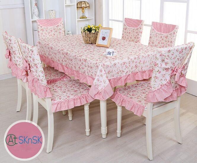 Több választás gyönyörű szövet DIY rusztikus kert virágos asztali ruha otthon esküvői dekoráció vintage csipke asztal ruha