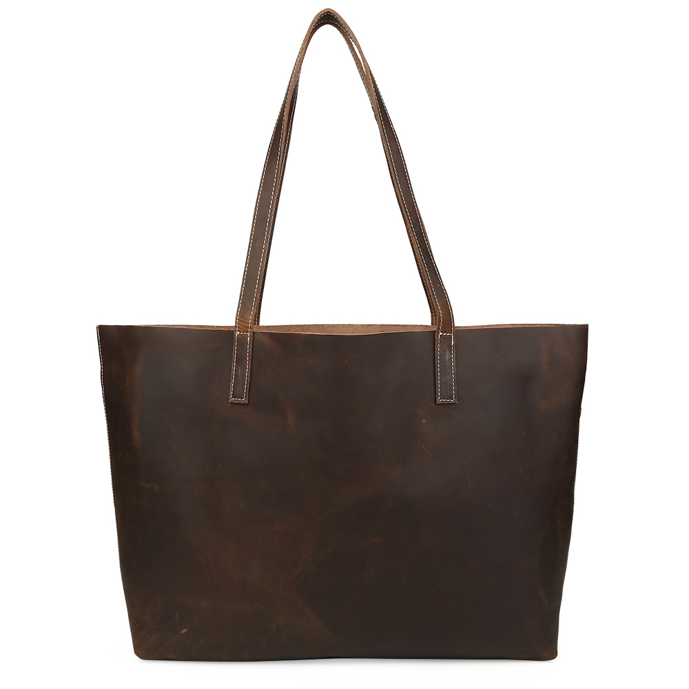 Tiding Genuine Leather Ladies' Tote Bag Fashion Composite Handbag Women Large Ca