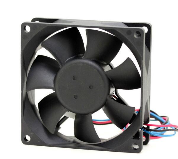 Delta AFB0812L 8CM DC 12V 0.12A 80*80*25mm 3-wire CPU Chassis Power Supply Computer Cooling Fan