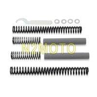 Progressive Suspension Fork Springs Front Lowering Kit for Harley Sportster XL 883 XL 1200 1988 2017 39mm Fork