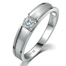0 20ct Diamond Ring Men Solitaire Natural Diamond Solid 18K font b White b font font
