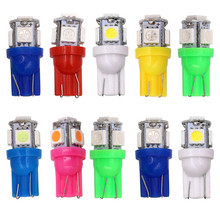LED car  light bulbs accessories 12V DC indicator install license plate width lights194 W5W 168