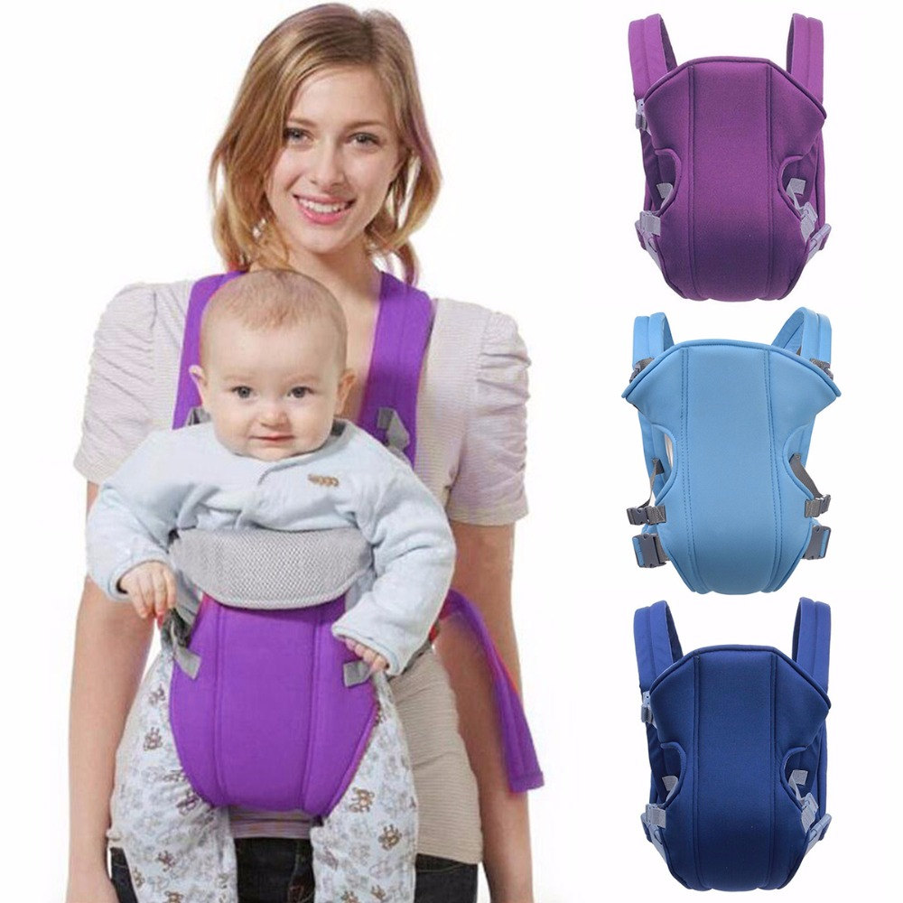 0-30 Months Breathable Front Facing Baby Carrier Multifunction Infant Comfortable Sling Backpack Pouch Wrap Baby Kangaroo New