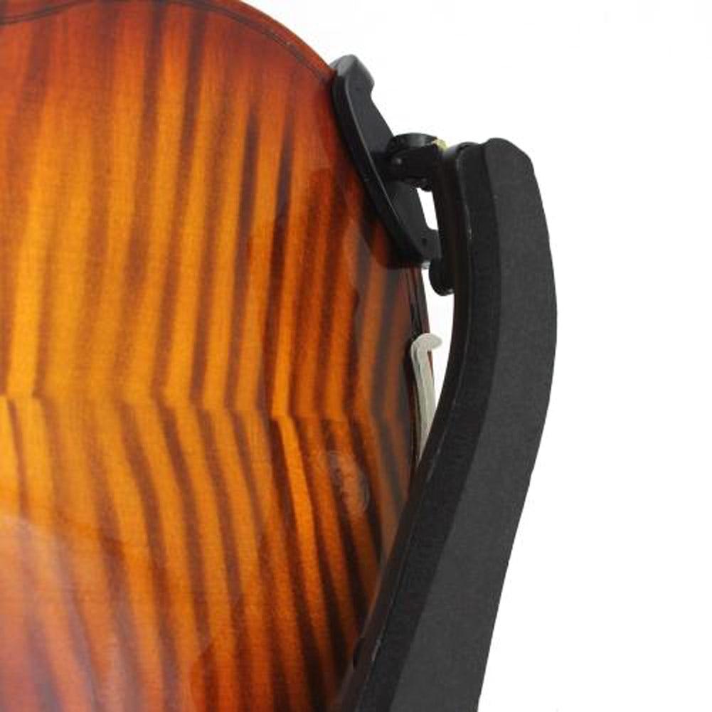 1/2 tai 1/4 kokoinen käsityönä valmistettu kiinteä akustinen kahva Viulun viulu kantolaukun virittimellä