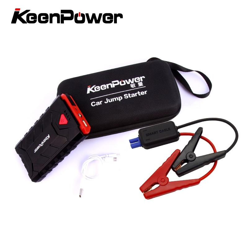 Portable Mini 500A D'urgence Dispositif de Démarrage 8600 mAh Batteries Chargeur De Voiture Jump Starter Booster de La Banque D'alimentation Pour 12 V Essence Auto