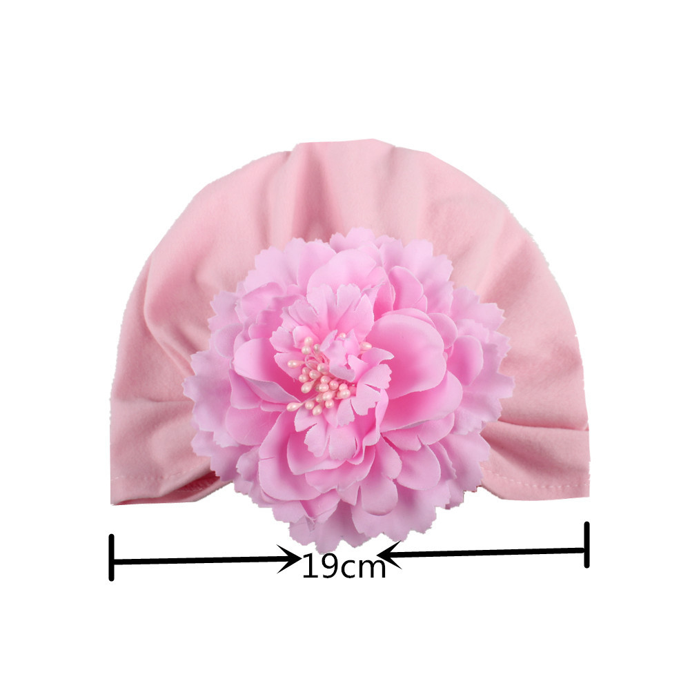 New Simulation Flower Babys Hats India Innovative Baby Hats Baby Head Caps