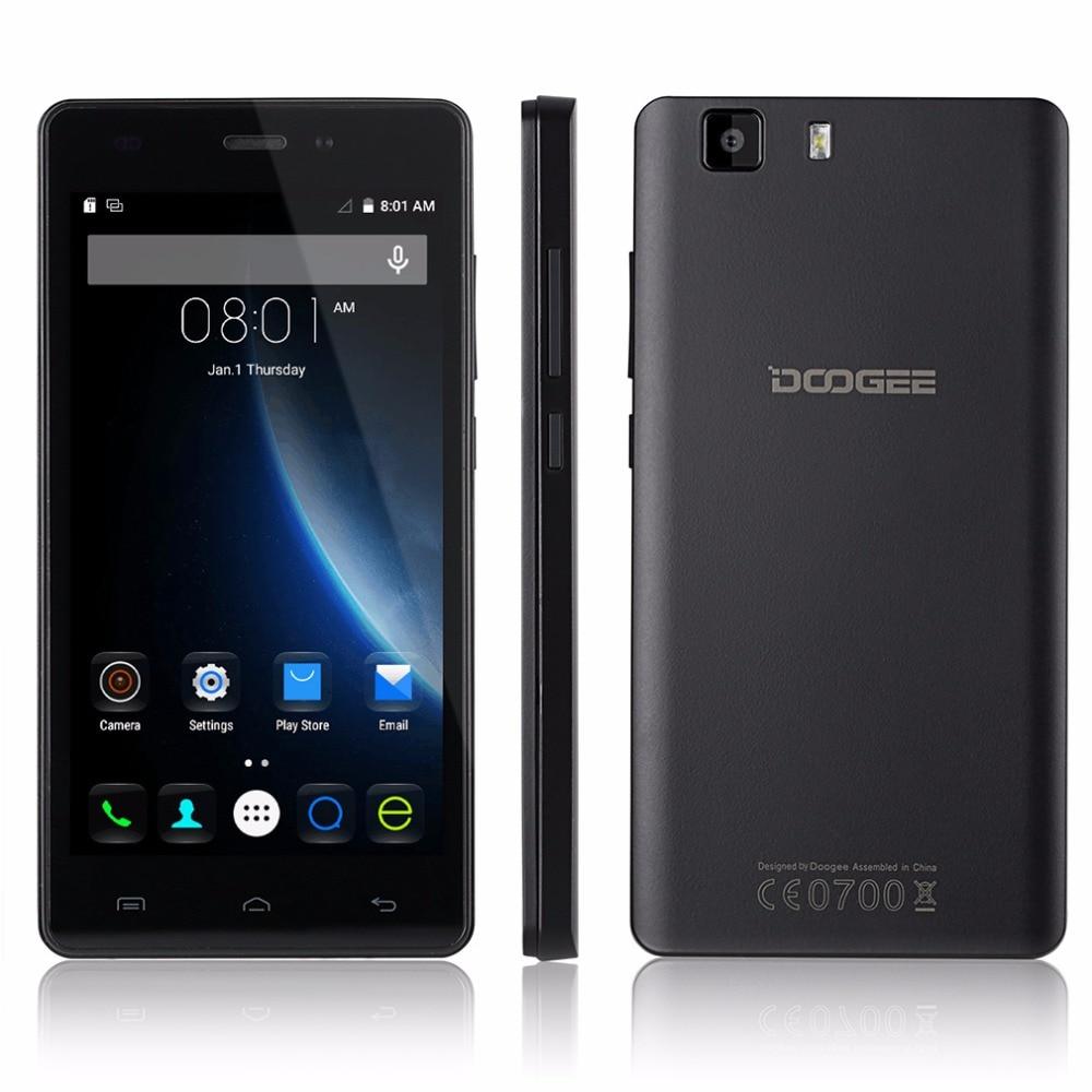Original doogee x5 pro 5 mtk6735 ''smartphone android 5.1 quad core dual SIM 240