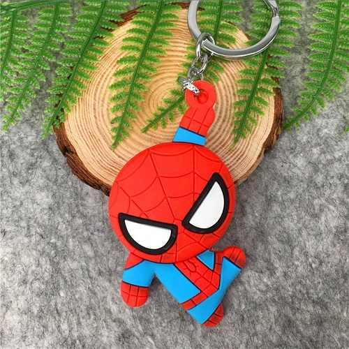 マーベルアベンジャーズ無限大戦争キーホルダーアイアンマン Iron Spider Hulkbuster Thanos さんドクター奇妙なキャプテンアメリカフィギュアキーリング