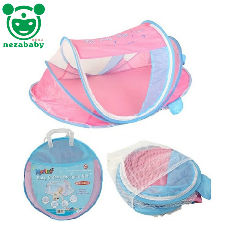2016 Summer Baby Mosquito Net Tent Kids Play Tents Children Mosquito Nets For Baby Bed Portable Mosquito Nets Outdoor Tents CP18