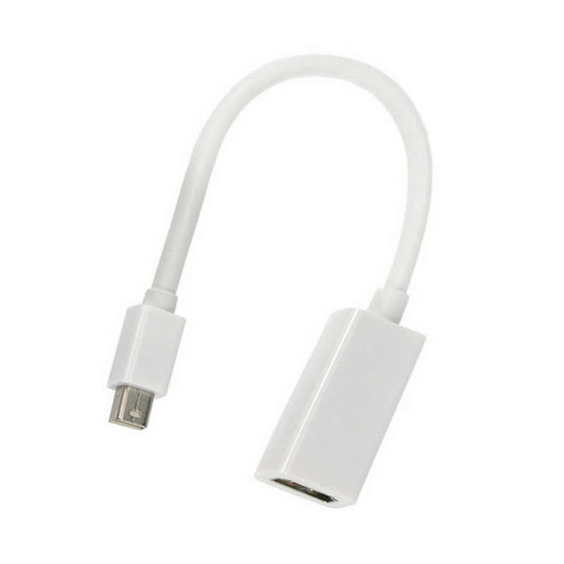 Mini Display Port para Hdmi Thunderbolt Conversor HDMI Mini DP para Cabo Adaptador HDMI 1080P