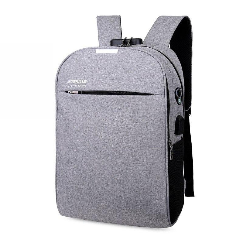 VASSARETTE Men Backpacks Multifunction USB Charging Women 15to17inch Laptop For Teenager Fashion Travel Backpack