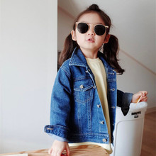 Fashion Baby Girls Boys Spring Autumn Jeans Jacket Long Slee