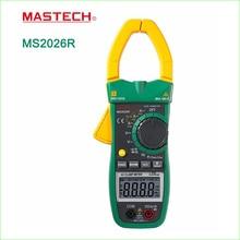 Mastech MS2026R Цифровой Клещи Tecrep Тестер Амперметр ПЕРЕМЕННОГО ТОКА AC/DC Вольтметр Сопротивление Частота Детектор Мультиметр 1000A