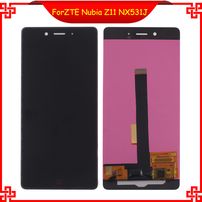 ФОТО  For ZTE Nubia Z11 NX531J Full LCD Display Touch Screen Digitizer Assembly Original 5.5