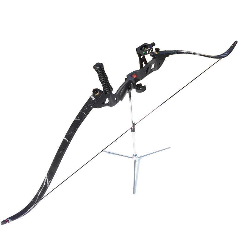 60inch Recurve Bow Draw Weight 35lbs 40lbs 45lbs Bow Archery Composite 5pins Sight Arrow Rest Hunting Stabilizer Finger Guard dmar recurve bow archery stabilizer balance rod v bar damping rod shock absorber bow hunting accessories