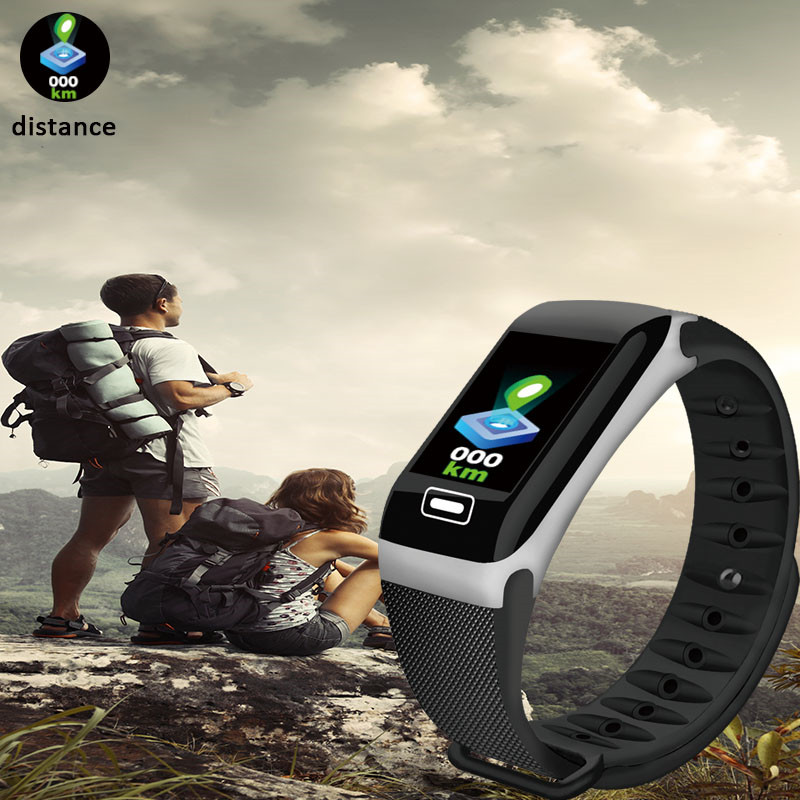 Image 5 - LIGE New Smart Bracelet Health Monitor Heart Rate / Blood Pressure / Waterproof Pedometer Sports Bracelet For Men Women's Watch-in Smart Wristbands from Consumer Electronics