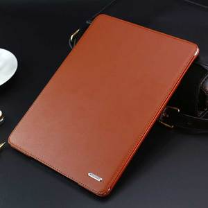 "Image 2 - 高級牛革本革ケースは、 Ipad の空気 2 ビジネス本革 iPad6 iPad 用カバー air2 9.7"""
