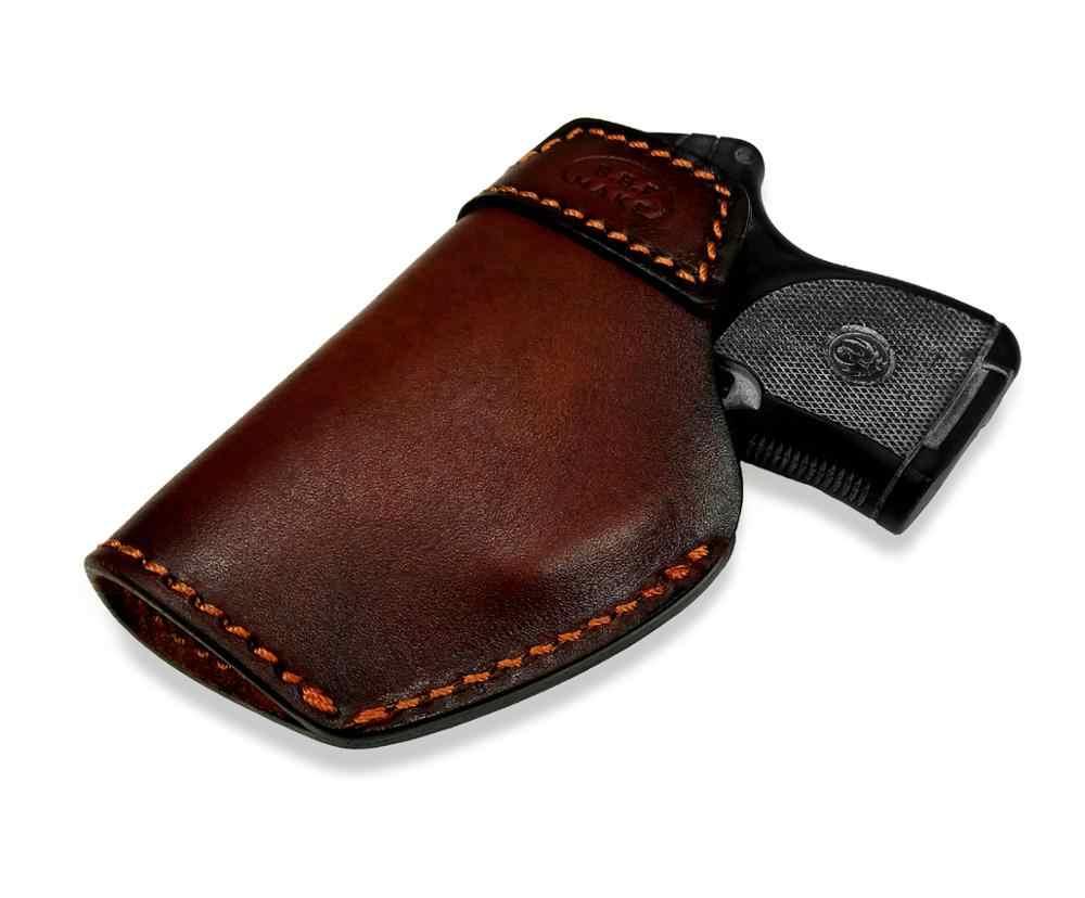 B.B.F MAKE جعل اليدوية IWB بندقية الحافظة حقيبة جلد ل روجر LCP380 BG380 P938 صغيرة مسدس الحقيبة حزام كليب