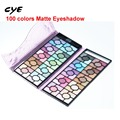 2016 Attractive Completa Shimmer 100 Cores da paleta da sombra de Olho Cosméticos Mineral Make Up Maquiagem Kit Paleta Da Sombra de Olho Profissional