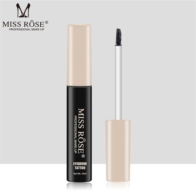 MISS ROSE Microblading Eyebrow Tattoo Pen with Eyebrow Brush Waterproof Eyebrow Gel Tattoo Paint Makeup Eyebrow Dye Cream Makeup 4