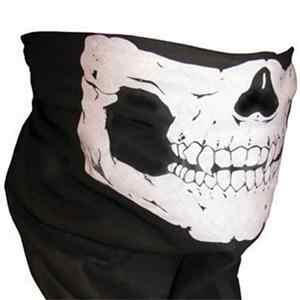 Unisex Anti Debu Mulut Masker Bandana Motor Polyester Syal Wajah Leher Hangat Helm Setengah Dot untuk Pria Wanita