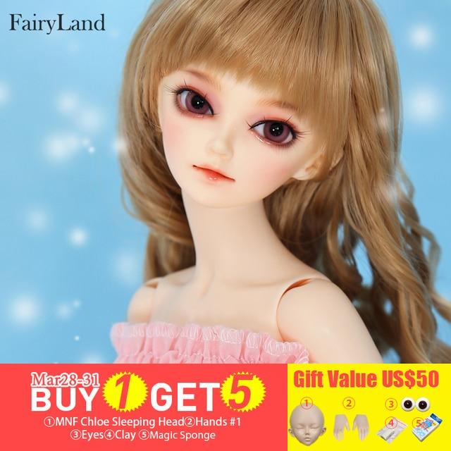 4655270fcda Fairyland Minifee shushu 1/4 BJD Doll Moe Girl Body Resin Figures Model  Dolls Eyes