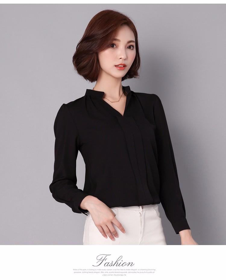 HTB13f4MLpXXXXaFapXXq6xXFXXXY - Long Sleeve Elegant Ladies Office Shirts Fashion Casual Slim Women