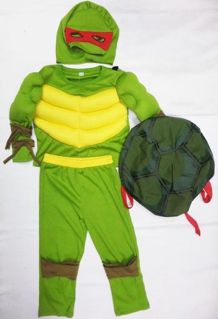 Halloween Teenage Mutant Ningja Turtles Costume 3-7Y