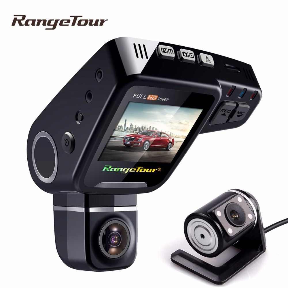"""Двойной объектив Dash camera C10s Plus Автомобильный видеорегистратор камера Full HD 1080 P 2,0 дюймов lcd 170 """"g-сенсор видео рекордер режим парковки ночного видения"""
