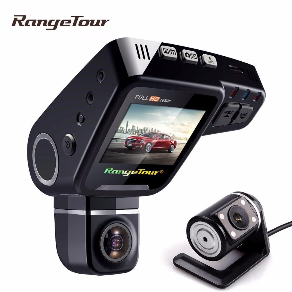Double Objectif Dash Caméra C10s Plus Voiture DVR Cam Full HD 1080 P 2.0 Pouce LCD 170 G-Capteur Vidéo Enregistreur Parking mode nuit vision