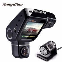 Двойной объектив тире Камера C10s плюс Видеорегистраторы для автомобилей Cam Full HD 1080 P 2.0 дюймов ЖК-дисплей 170 «G-Сенсор видео регистраторы парковка режим ночного видения