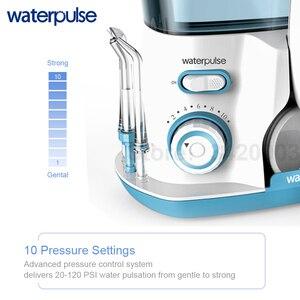Image 2 - Waterpulse V300 800Ml Monddouche 7Pcs Tips Dental Water Flosser Water Floss Mondhygiëne Tanden Bleken Water Flossen
