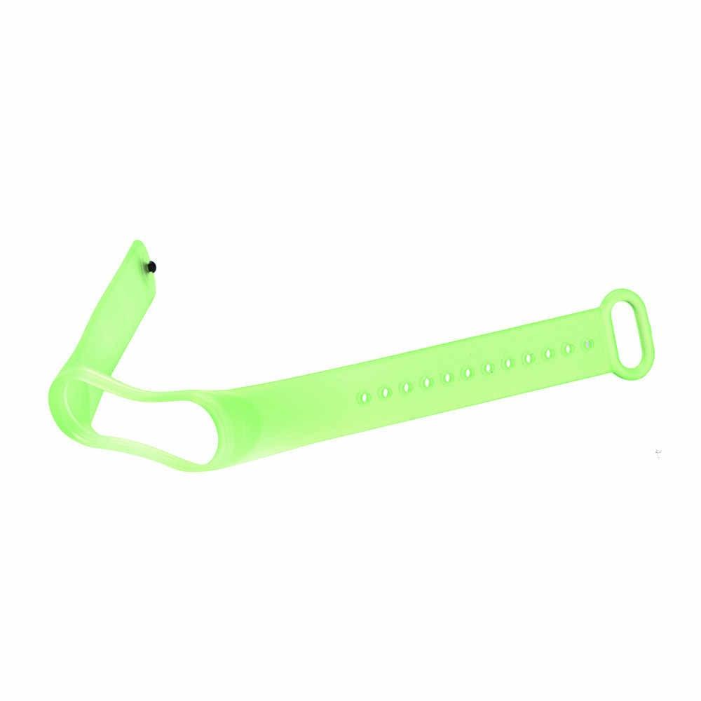 Silicone trasparente di Ricambio Wristband Cinturino Da Polso Per Xiao mi mi fascia 3 Wristband del Braccialetto Della cinghia Di Polso smartwatch