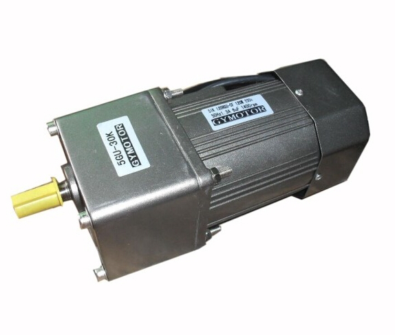 AC 380V 120W Three phase motor with gearbox. AC gear motor,