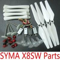 SYMA X8SC X8SW X8PRO Original Spare Parts Motors Gears Propellers Landing Gear Tripod Engines Replacement Accessories Kits