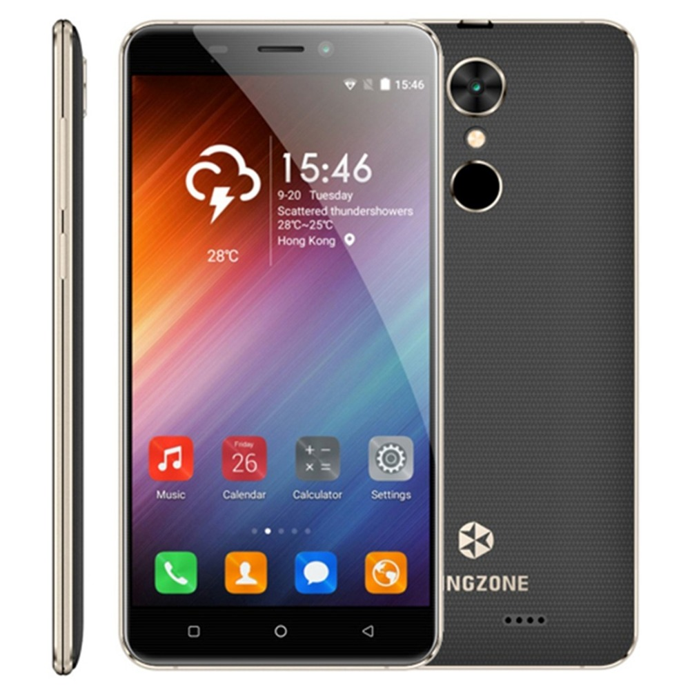 Original KINGZONE S3 Smartphone 5 0 Shockproof Android 6 0 MTK6580 Quad Core 1GB RAM 16GB