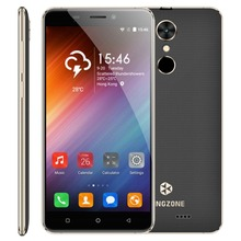 "Original KINGZONE S3 Smartphone 5.0"" Shockproof Android 6.0 MTK6580 Quad Core 1GB RAM 16GB ROM Fingerprint ID Mobile Cellphone"